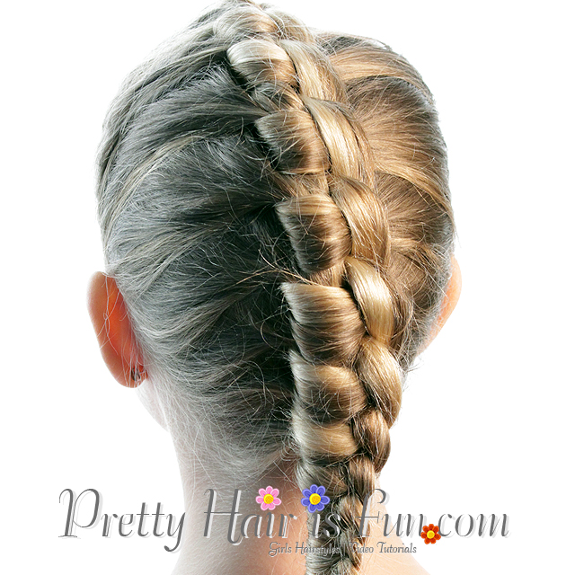 Pretty Hair Is Fun French Style Chinese Staircase Braid