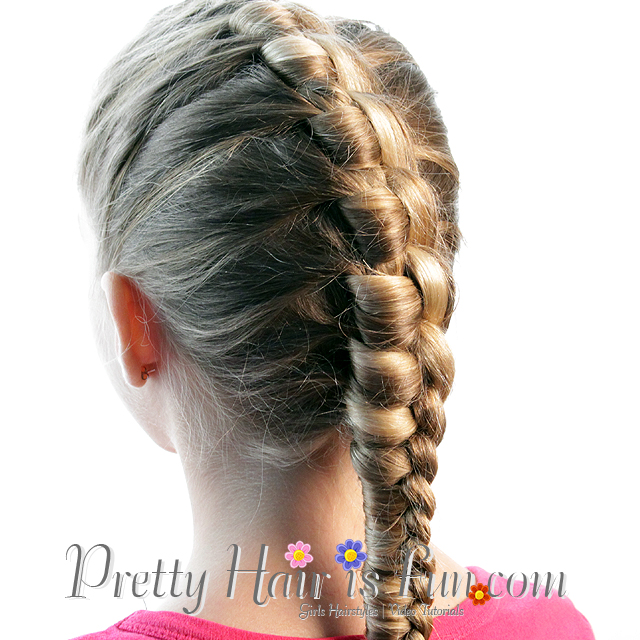 Pretty Hair Is Fun: French Style Chinese Staircase Braid