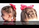 Pretty Hair is Fun: Stair Step Ponytail