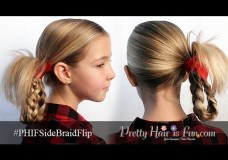 Pretty Hair is Fun: Side Braid Flip