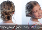Pretty Hair is Fun: Easy Braided Updo
