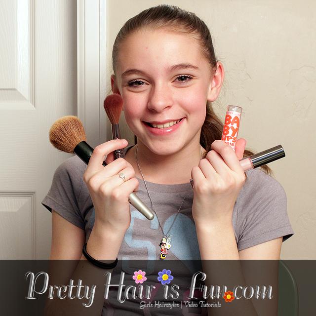 Pretty Hair Is Fun Tween Makeup