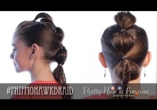 Pretty Hair is Fun: Mohawk Bubble Braid