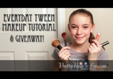 Pretty Hair is Fun: Tween Makeup Tutorial & Giveaway!
