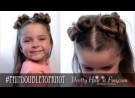 Pretty Hair is Fun: Toddler Hairstyles: Double Top Knot Buns