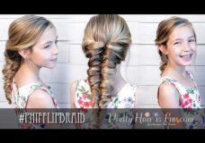 Pretty Hair is Fun: Easy Flipped Twisted Braid/ Pull Through Mermaid Braid