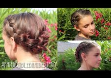Pretty Hair is Fun: How To: Short Braided Updo for Short Hair