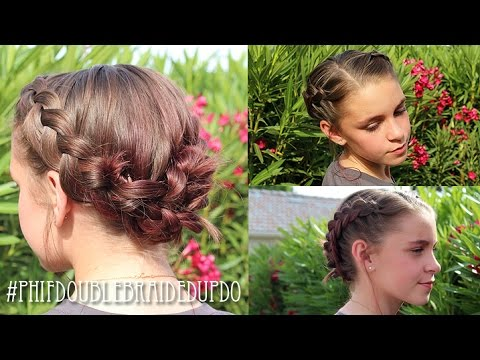 Milkmaid Braids Pretty Hair Is Fun Girls Hairstyle Tutorials