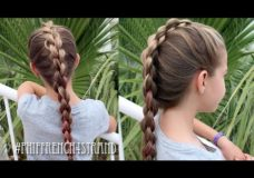 Pretty Hair is Fun: French Four Strand 3D or Round Braid Tutorial