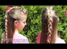 Pretty Hair is Fun: Half Up Mohawk Braid Hairstyle
