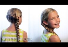 Pretty Hair is Fun: Rope Twist Combo Braid
