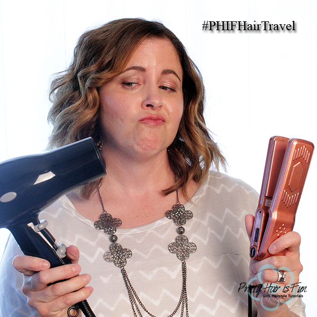 Pretty Hair is Fun: Travel Size Hair Tools-- Are They Worth It?