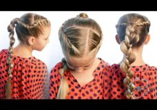 Pretty Hair is Fun: French Rope Twist Braid & Uneven Braid