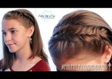 Pretty Hair is Fun: Tucked Away Headband Braid