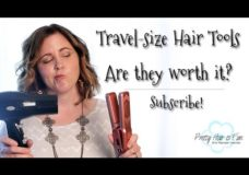Pretty Hair is Fun: Travel Size Hair Tools Review
