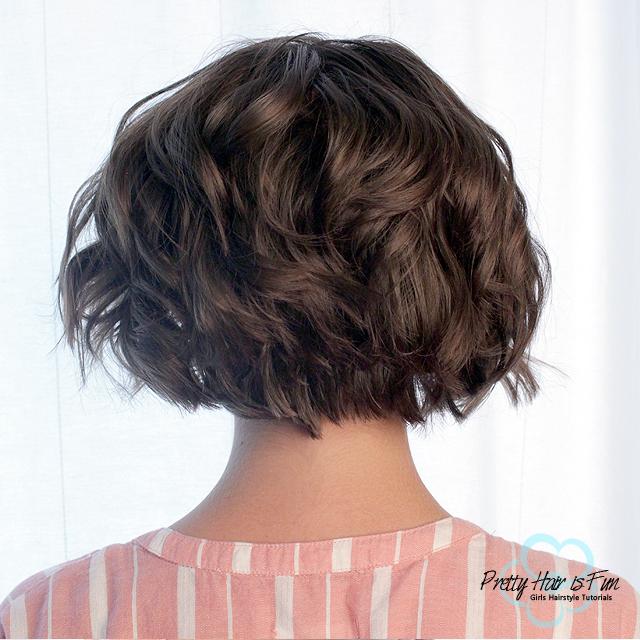 Pretty Hair Is Fun Short Hairstyle Quick Flat Iron Curls Pretty Hair Is Fun Girls Hairstyle Tutorials