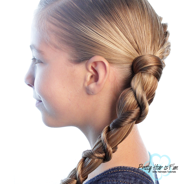 Pretty Hair is Fun: Wrap Around Twist Braid Combo