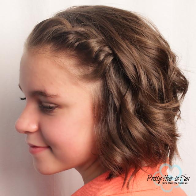 Outstanding Pretty Hair Is Fun Girls Hairstyle Tutorials Pretty Hair Is Short Hairstyles Gunalazisus