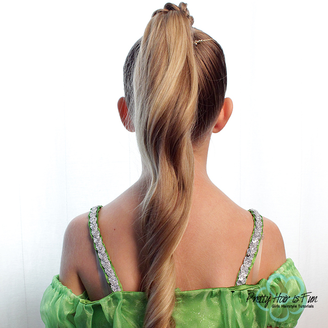 Pretty Hair is Fun: Genie Halloween Costume Hairstyle