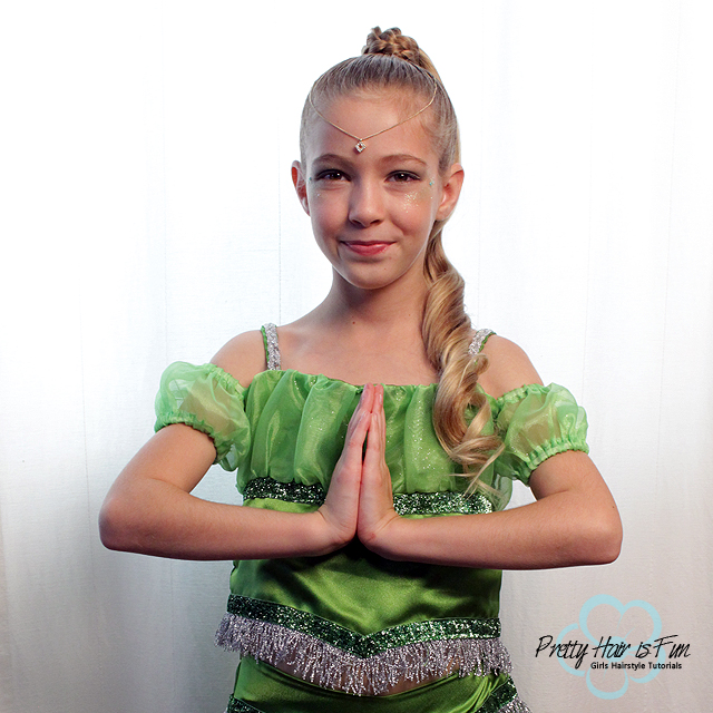 Pretty Hair is Fun: Genie Halloween Costume Hairstyle