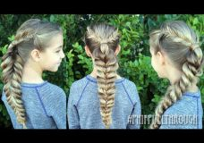 Pretty Hair is Fun: How To: Fishtail and Pull Through Braid Combo