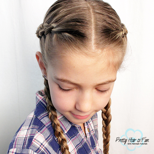 Pretty Hair is Fun: Criss Cross Dutch Braids