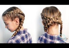 Pretty Hair is Fun: Criss Cross Dutch Braids
