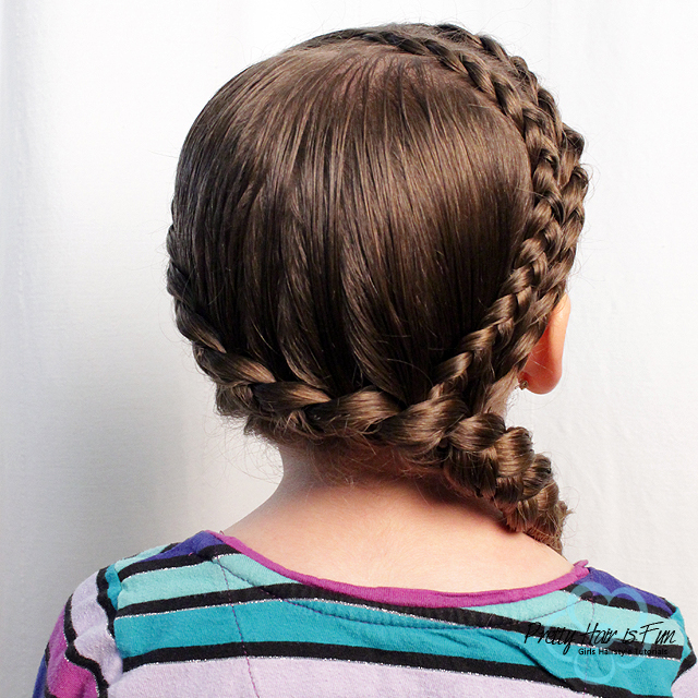 Pretty Hair is Fun: Double Dutch Accent Braids