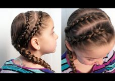 Pretty Hair is Fun: Double Dutch Accent Braids {Toddler Hairstyle}