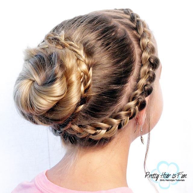 Pretty Hair is Fun: Double Dutch Updo