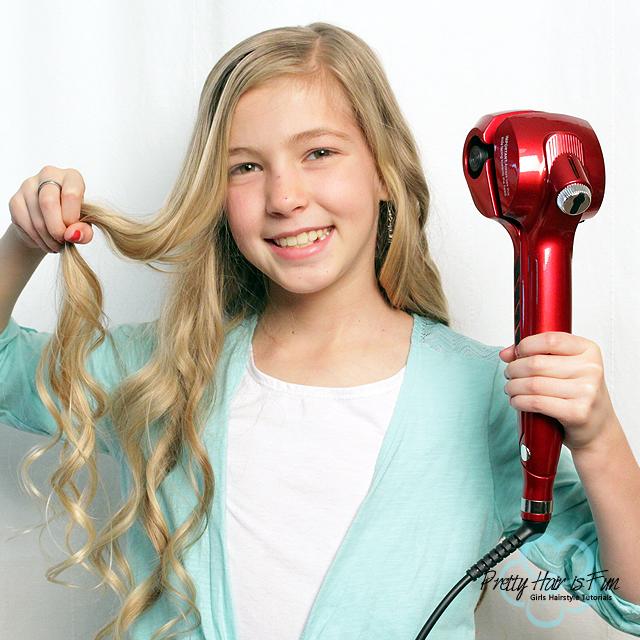 Pretty Hair is Fun: Steamer Curl Hair Tool Review