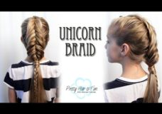 Pretty Hair is Fun: Unicorn Braid