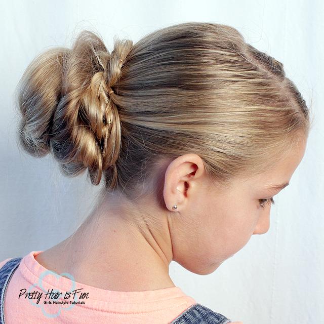 Dutch Lace Braid Updo | Pretty Hair is Fun