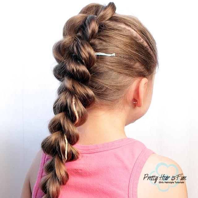 Pull Through Split Braid | Pretty Hair is Fun