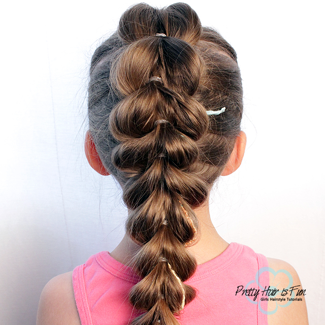 Pull Through Split Braid   Pretty Hair is Fun