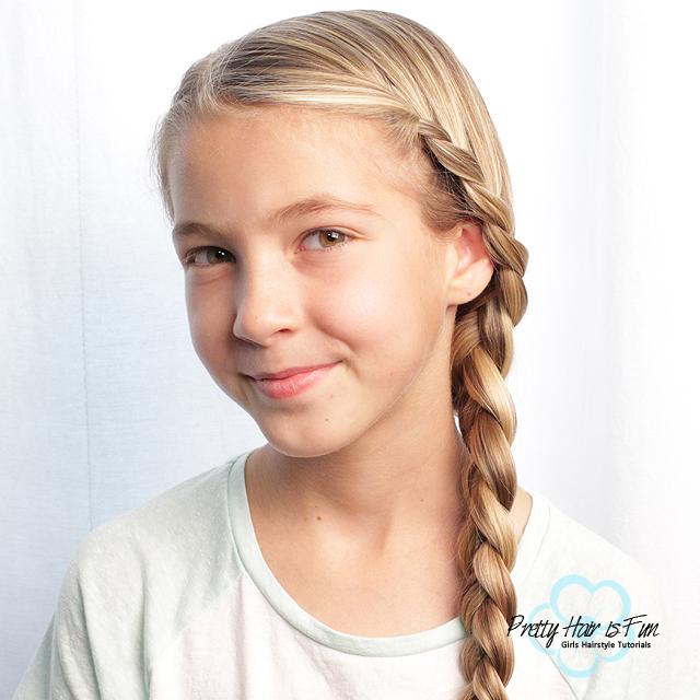 Side French Lace Braid - Pretty Hair is Fun