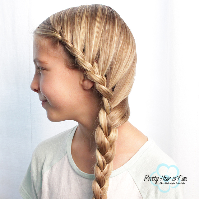 How To Do A Side French Lace Braid Beginner Hairstyles Pretty