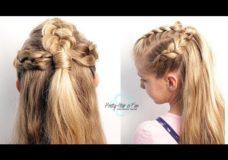 Triple Dutch Braids | Half Up Hairstyles | Pretty Hair is Fun