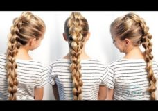 Pretty Hair is Fun: 3D-Split Pull Through Braid