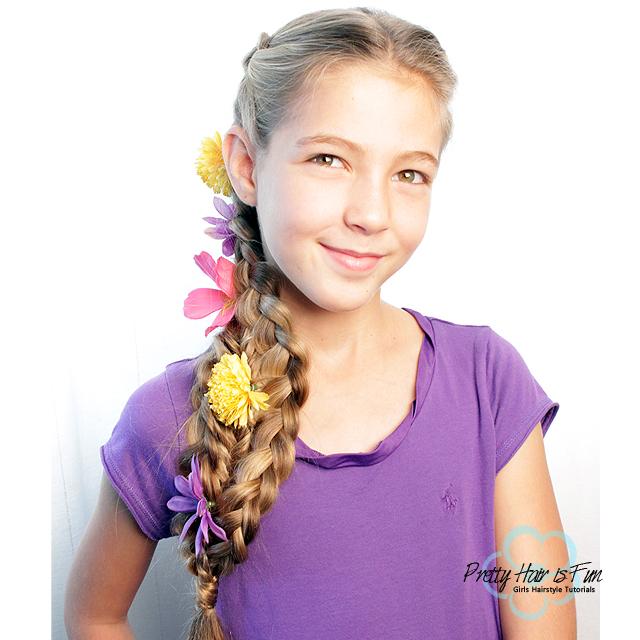 Rapunzel Hairstyle | Pretty Hair is Fun