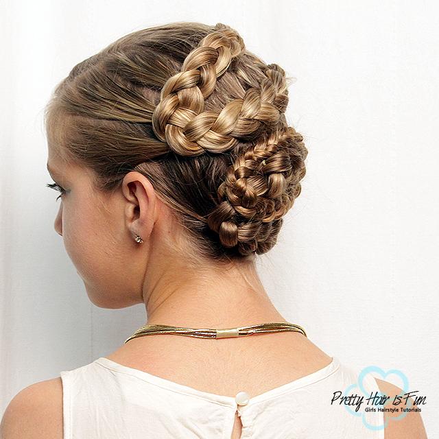 Pretty Hair Is Fun Girls Hairstyle Tutorials MEDUSA SNAKE