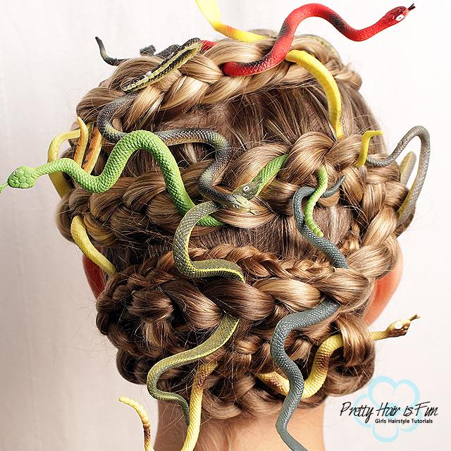Medusa Snake Braid - PRETTY HAIR IS FUN