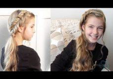 Dutch Fishtail Braid & Side Ponytail — Pretty Hair is Fun