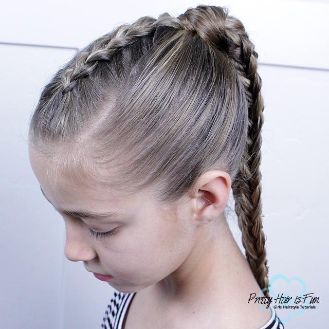 Twisted Edge Fishtail Braid: Pretty Hair is Fun