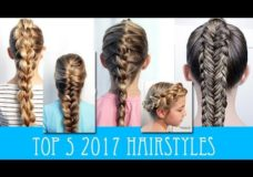 OUR FAVORITE FIVE HAIRSTYLES FROM 2017