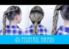 Pretty Hair is Fun: 4D Fishtail Braid (Box Braid)