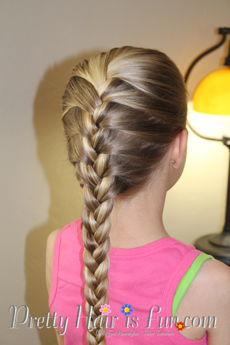 Girl S Hairstyles How To Do A French Braid Pretty Hair